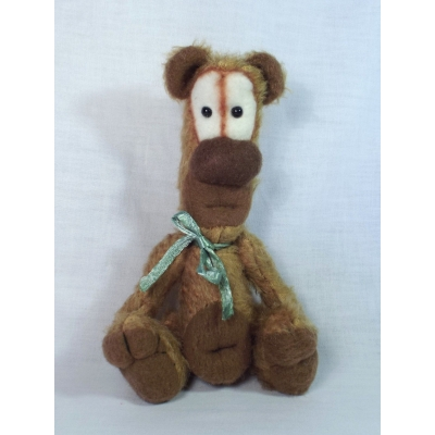 Meet Figly A Handmade One Of A Kind Mohair Bear From Billington Bears