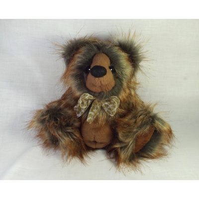 Meet Ervine A Handmade One Of A Kind Artist Bear From Billington Bears