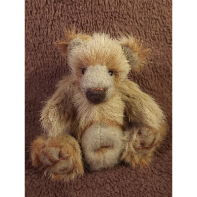 Meet Budge A One Of A Kind Handmade Artist Bear From Billington Bears