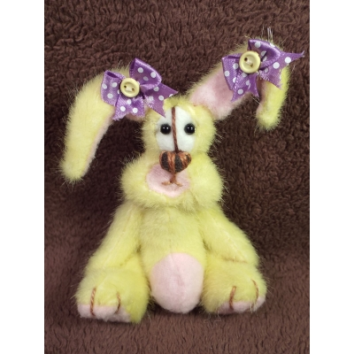 Meet Elsie-May A One Of A Kind Handmade Artist Bunny From Billington Bears