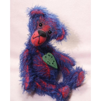 Meet Huckleberry A Handmade Mohair One Of A Kind Artist Bear From Billington Bears