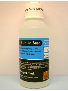 PG 52mg E-liquid nicotine  base 250ml