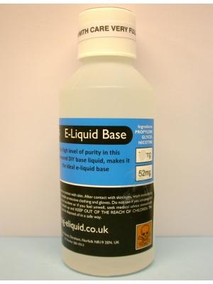 PG 52mg E-liquid nicotine base 250ml