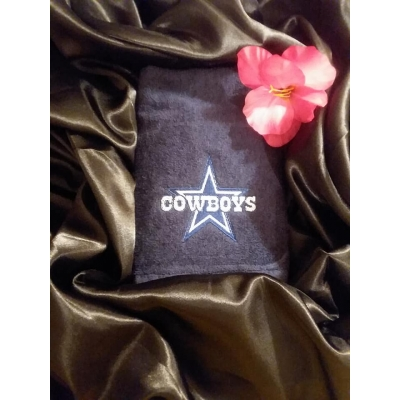 Sports Embroidered Towels title=