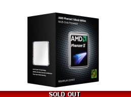 AMD Phenom II X4 940 Dual Core 3GHz Processor Boxed Black Edition
