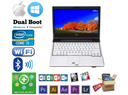 Fujitsu Intel i5 3GHz max 8GB 1TB DVD Windows MacBook OSX Hackintosh