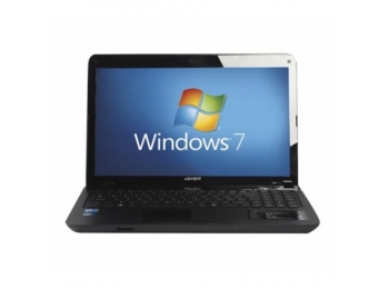 "Advent Modena M202 Intel Dual 2GHz 320GB 4GB HDMI 15.6"" LED - Win 7"