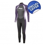 Ladies 3/2mm Neoprene Full Wetsuit