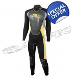 Mens 3/2mm Neoprene Full Wetsuit