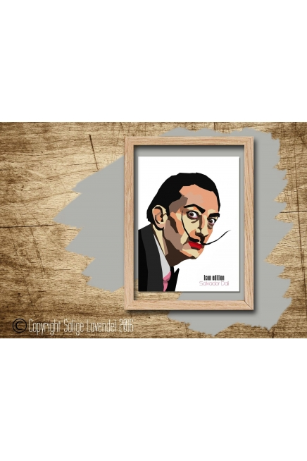 Salvador Dali print, serie Icon edition
