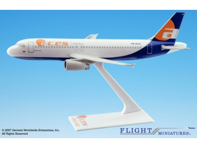 ACES Colombia Airbus A320-200 1:200