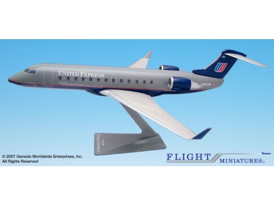 United Express Bombardier CRJ-200 1:100