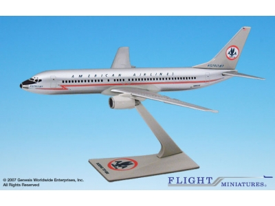 "American Airlines Boeing 737-800 ""Astrojet"" 1:200"