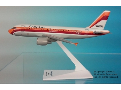 "American Airlines Airbus A319-100 ""PSA"" 1:200"