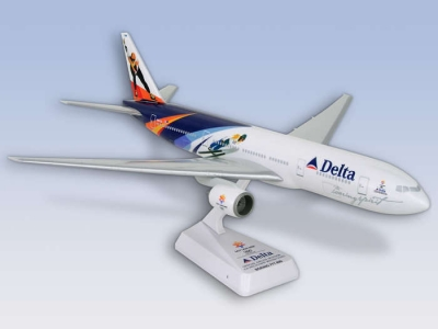"Delta Boeing 777-200ER ""Salt Lake 2002"" 1:200"