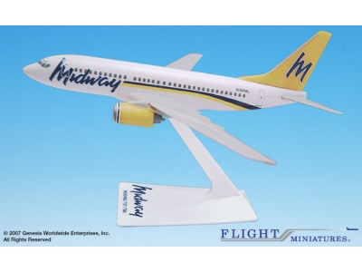 Midway Boeing 737-700 1:200