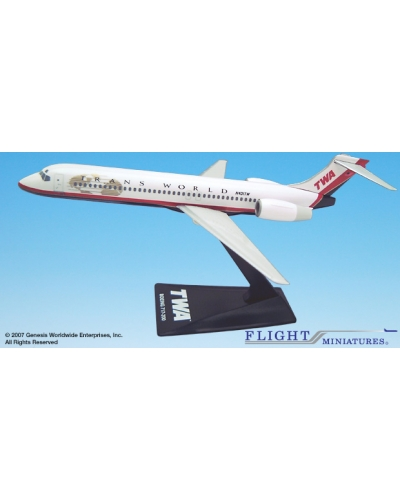 TWA Trans World Boeing 717-200 1:200