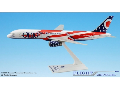 "America West Boeing 757-200 ""Ohio"" 1:200"