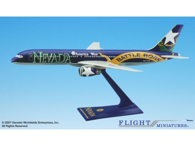 "America West Boeing 757-200 ""Nevada"" 1:200"
