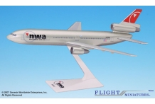 NWA Northwest Airlines Douglas DC-10-30 1:250