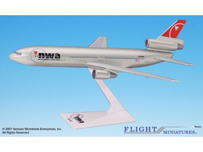 Northwest Airlines Douglas DC-10-30 1:250