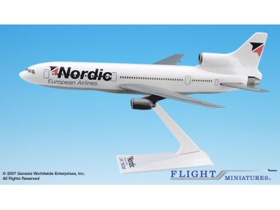 Nordic European Airlines Lockheed L-1011 1:250