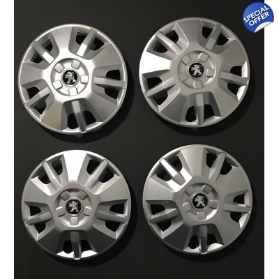 "15"" Genuine Peugeot Boxer Motorhome Van Wheel Trims"