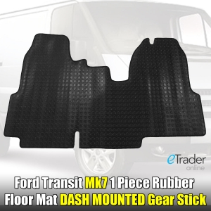 Ford Transit MK7 One Piece Rubber Mat 2010-2014