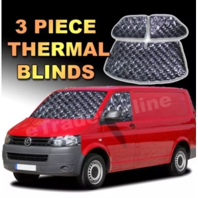 VW T5 Internal Thermal Blinds