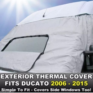 Fiat Ducato Motorhome Exterior External Window Thermal Blinds