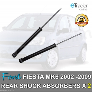 Ford Fiesta MK6 Rear Shock Absorbers 02-09