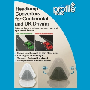 Headlamp Beam Benders Deflectors Headlight Euro Adapters