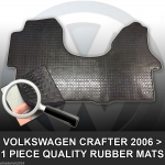 VW Volkswagen Crafter Rubber..