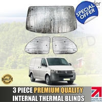 VW T5 Thermal Blinds Van Camper Internal Premium..