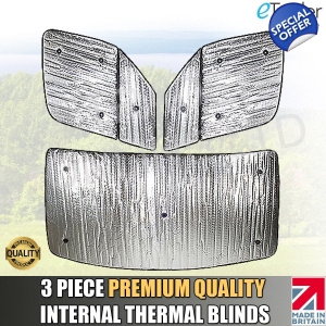 Mercedes Sprinter 2006-2012 Thermal Blinds Internal Luxury Blind Cover