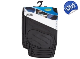 Ring Dura Shield  2000 Car Mat Set Black