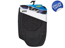 Ring Ultra Shield 4000 Car Mat Set Black