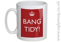 Bang Tidy - red mug