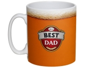 Best Dad Beer Mug