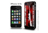 IPHONE 4/s CASE - ZOMBIE APOCALYPSE