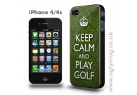 Keep Calm and Play Golf iPhone 4/s case