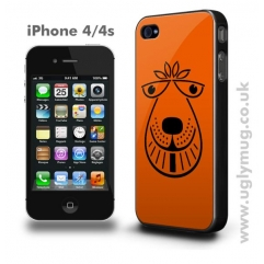 IPHONE 4/4s CASE - 1970s RETRO SPACE HOPPER COPY