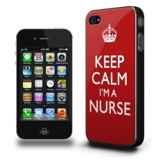 IPHONE 5 CASE - KEEP CALM I'M A NURSE