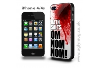 BATH SALTS OM NOM NOM -  IPHONE 4/S CASE