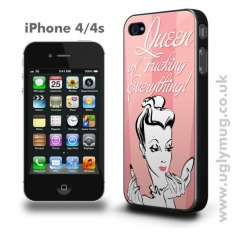 IPHONE 4/s CASE - QUEEN OF FUCKING EVERYTHING