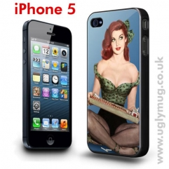 IPHONE 5 CASE - PIN UP GIRL CIGARETTE SELLER