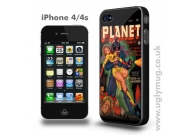 PLANET COMICS SCI FI IPHONE 4/S CASE
