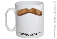 Bang Tidy Moustache Mug
