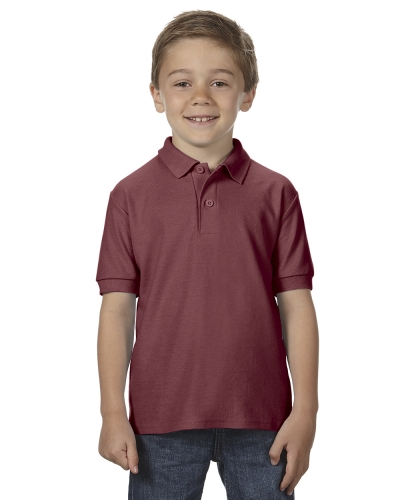 Classic Fit Youth Double Piqué Sport Shirt