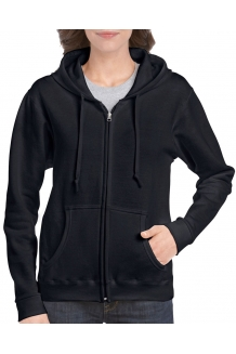Ladies Fit Full Zip Hooded S..